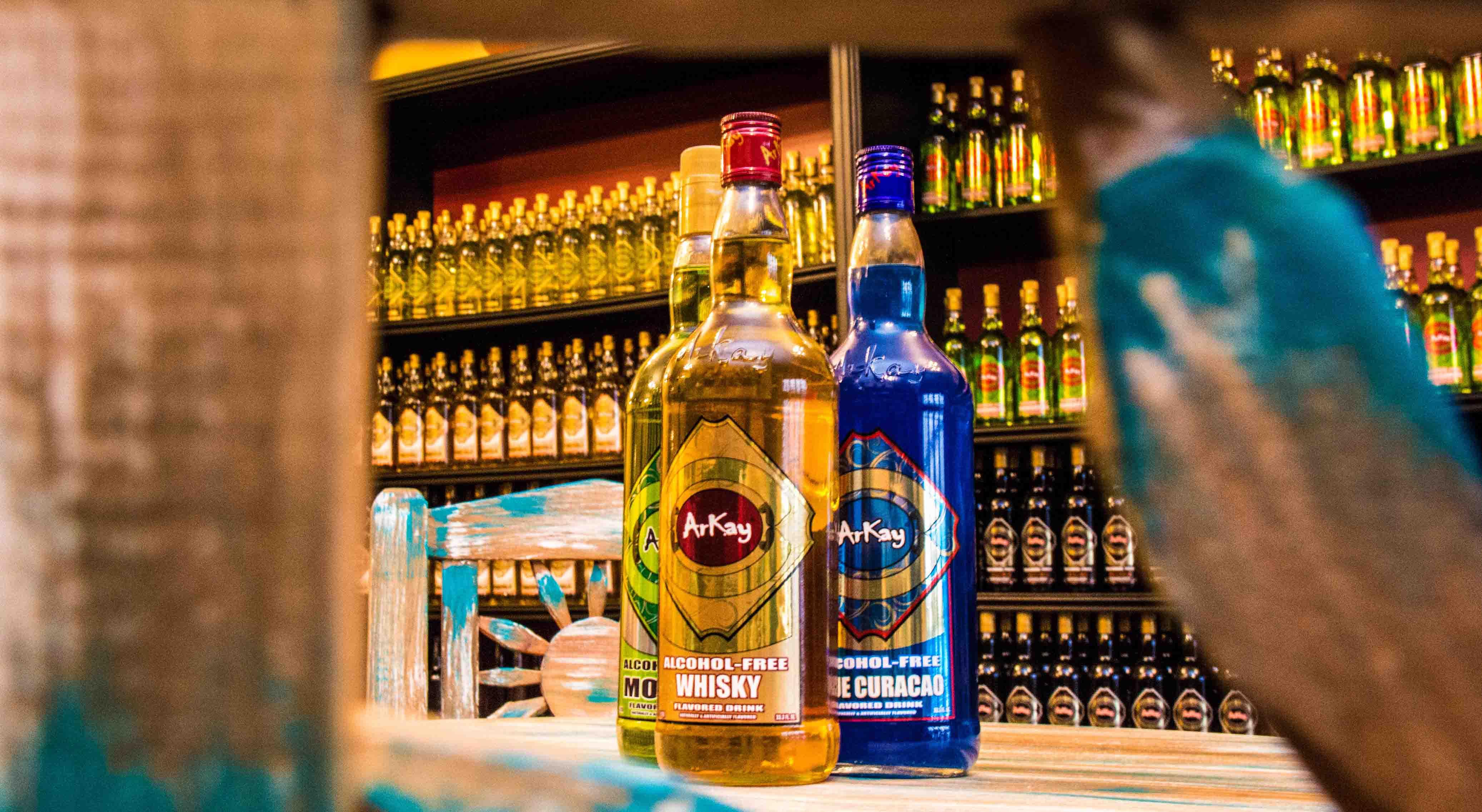 ArKay colección de Licores Sin Alcohol
